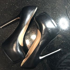 YSL Tribtoo Platform Leather Pumps 41.5